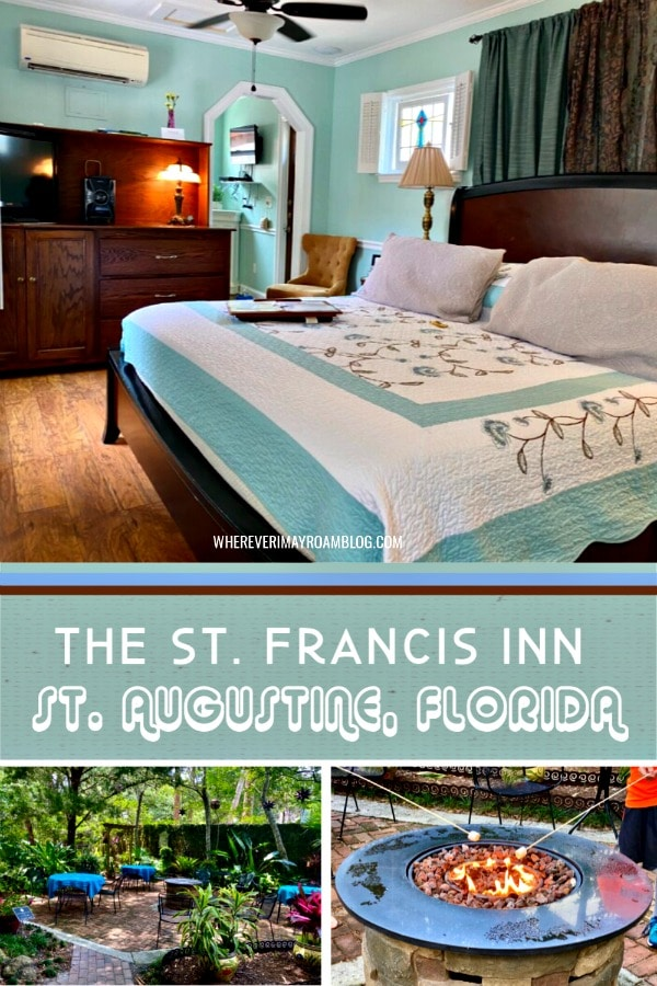 the st Francis Inn review st Augustine florida