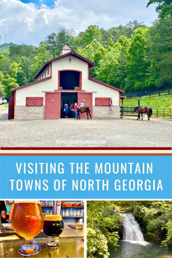visiting North Georgia mountain towns