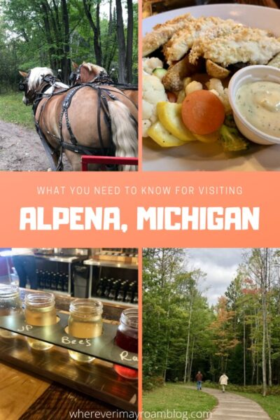 visiting alpena michigan pin