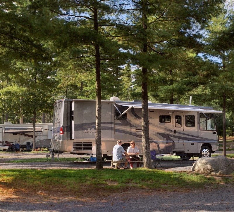 campsite at Normandy Farms