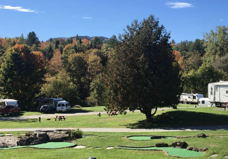 Mountain View campground Vermont