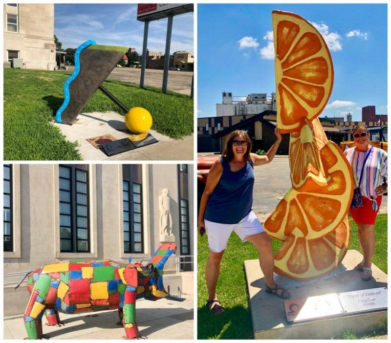 Sculpture tour salina ks