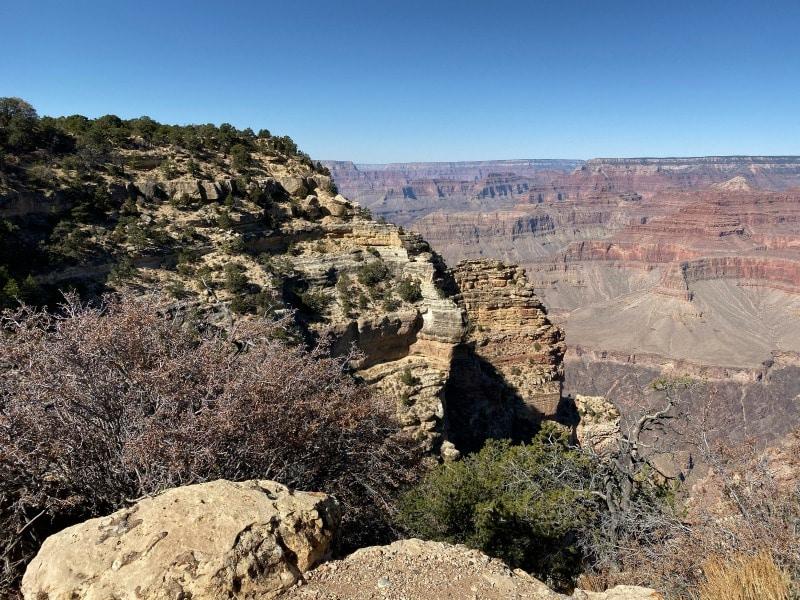 grand canyon rocks and landscape