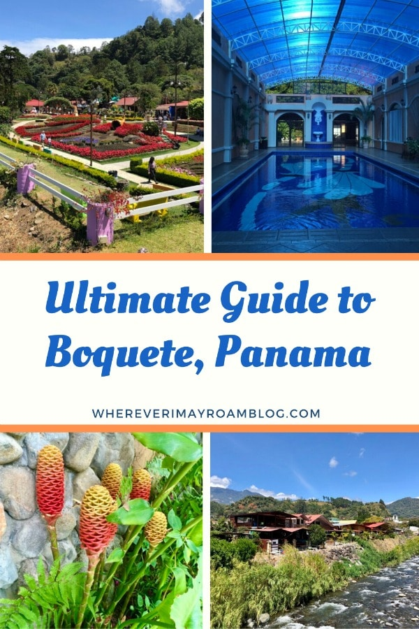 guide to visiting boquete, Panama pin