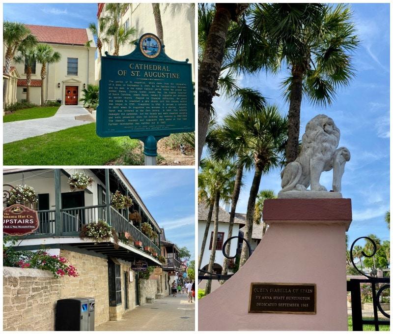 historic signs around st augustine florida
