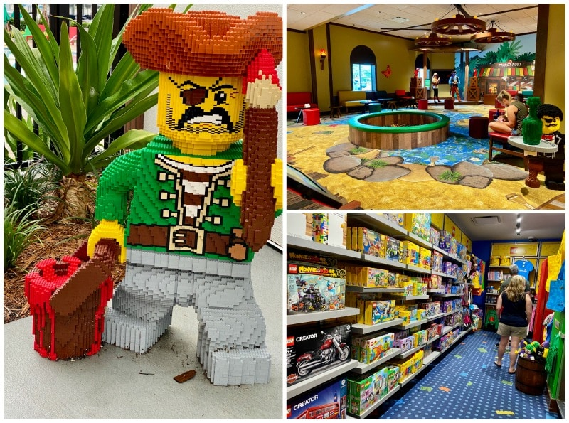 legoland hotel play areas and creations