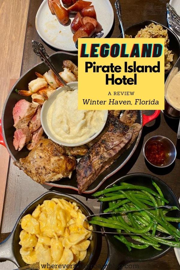 legoland pirate island hotel food