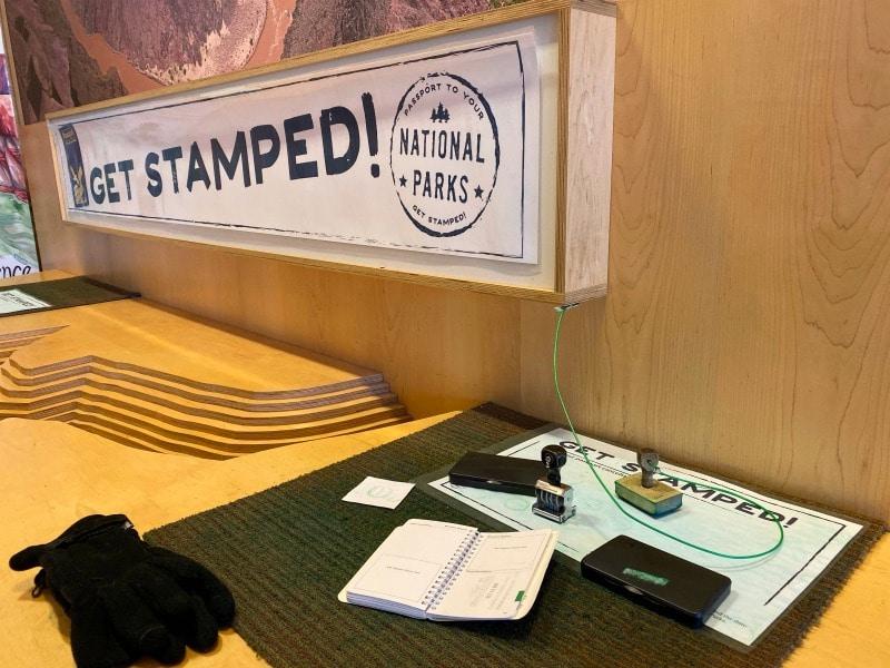 national parks passport stamp