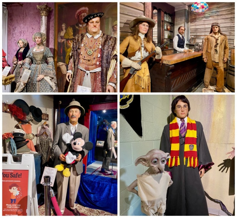 potters wax museum attractions