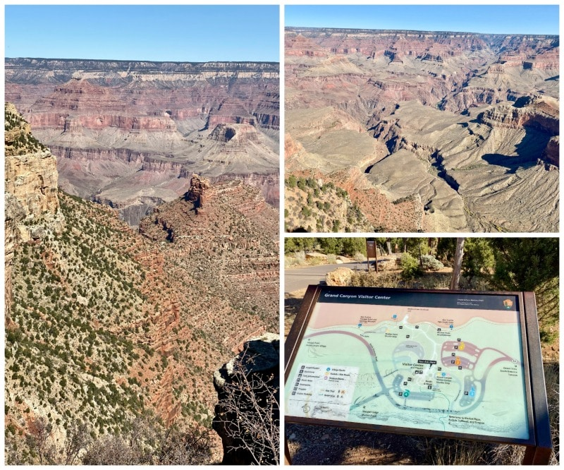 scenic Grand Canyon national park views