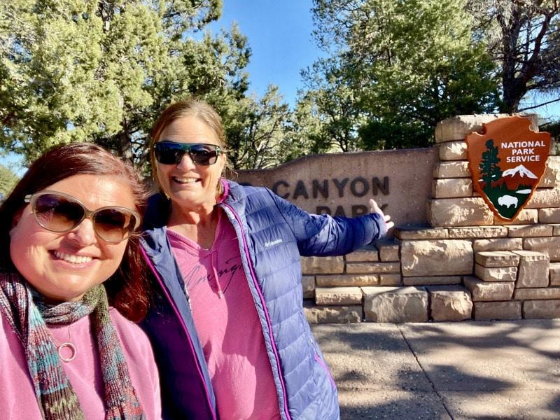 visiting the grand canyon national park via rv