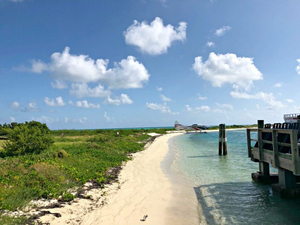 Dry Tortugas park and beach