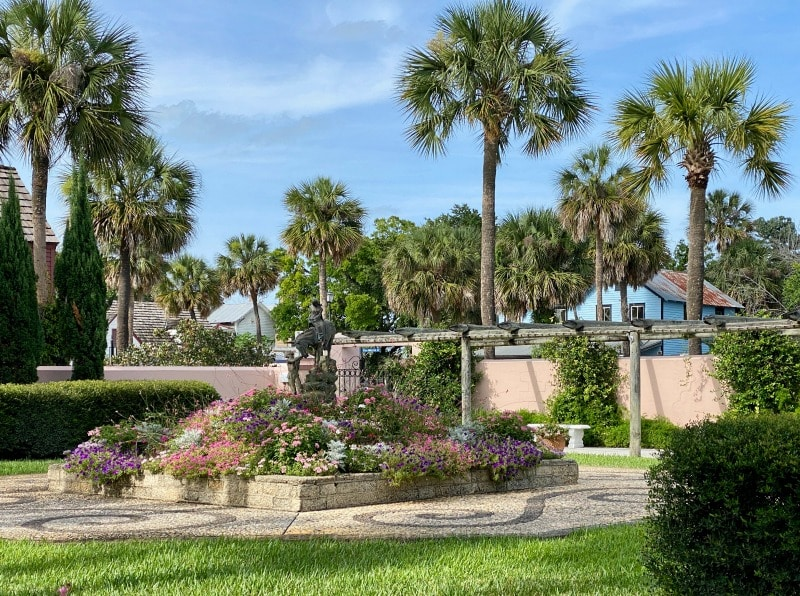 downtown park in st Augustine