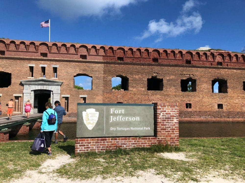 fort jefferson at key west park