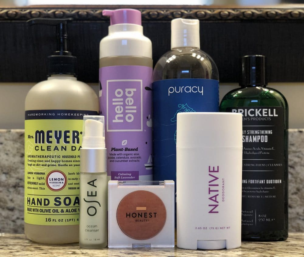 non toxic personal hygiene products