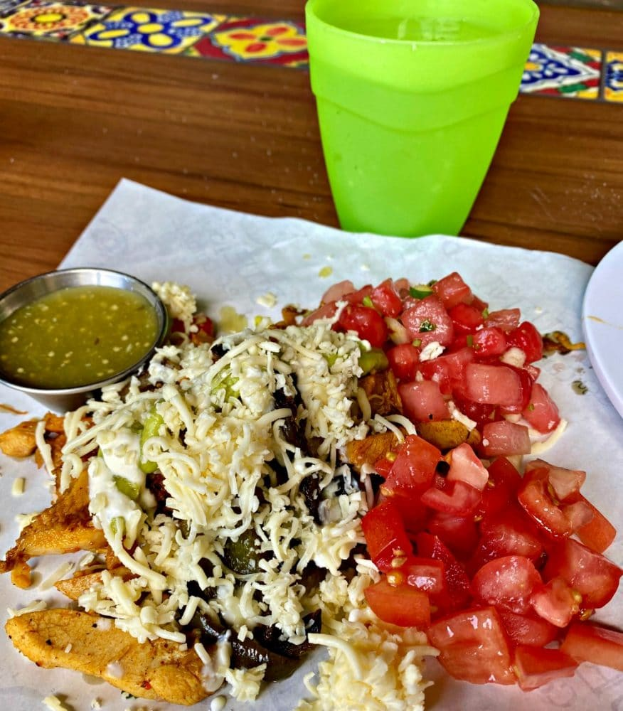 blue iguana cantina food