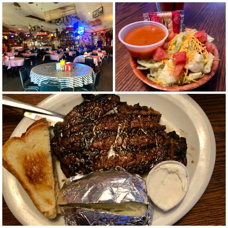 crazy rs steakhouse and salad