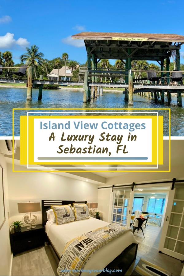 island view cottages Sebastian florida pin