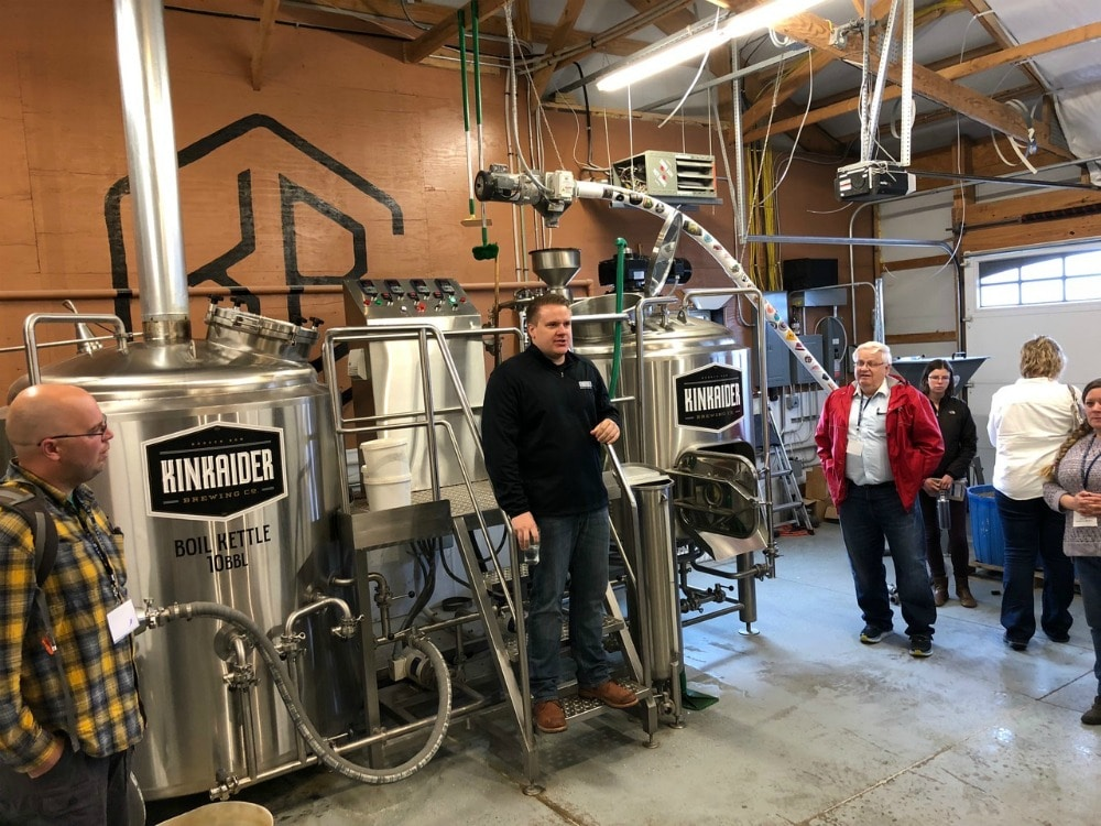 kinkaider brewery tour