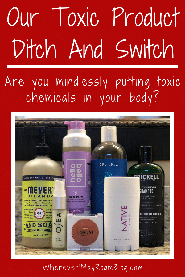 our toxic product ditch and switch journey