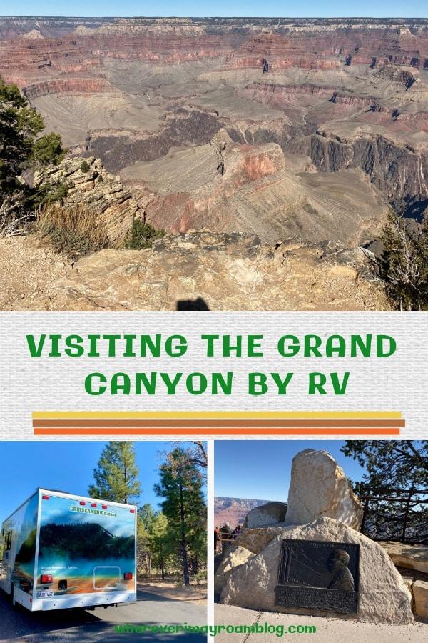 visiting the grand canyon arizona by rv
