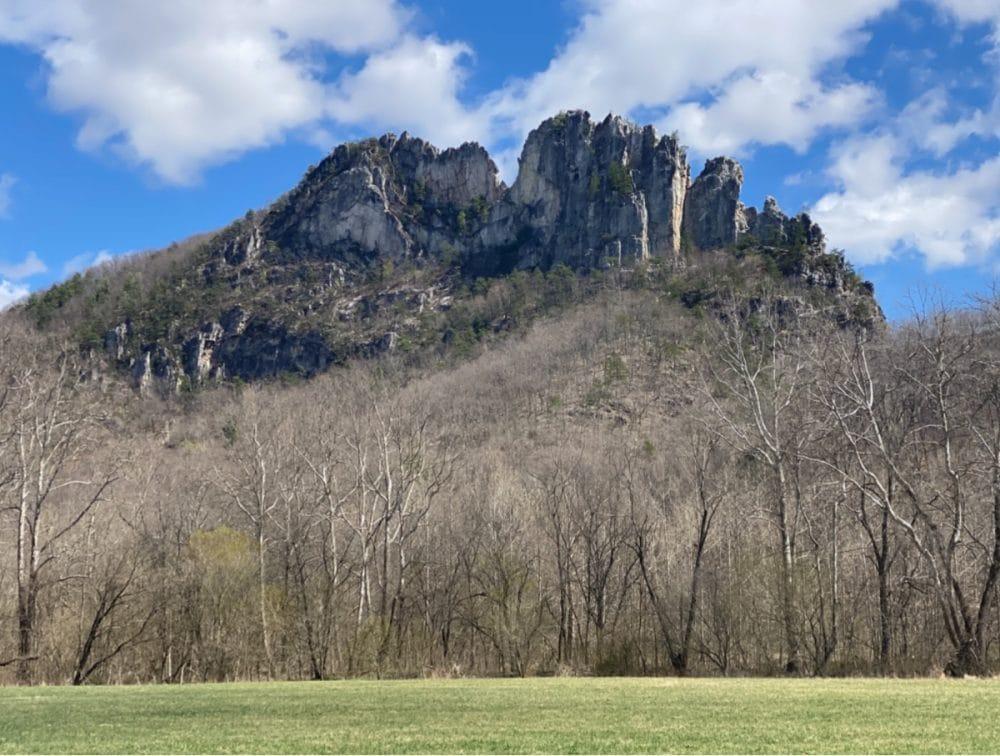 Seneca rocks hiking trail