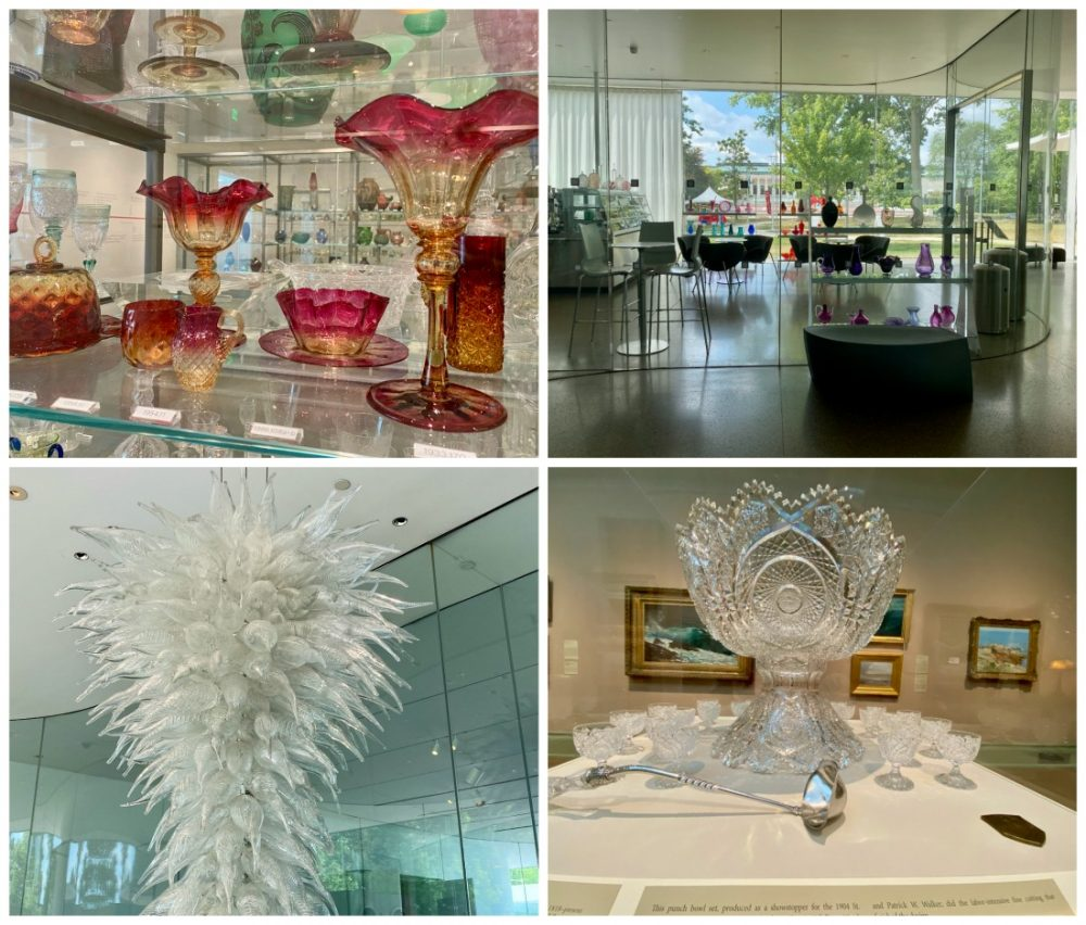 amazing glassware at toledo glass pavilion including chihuly