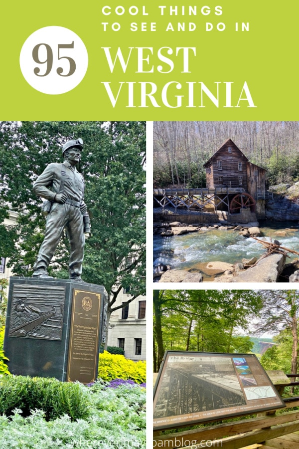 cool things to do in West Virginia