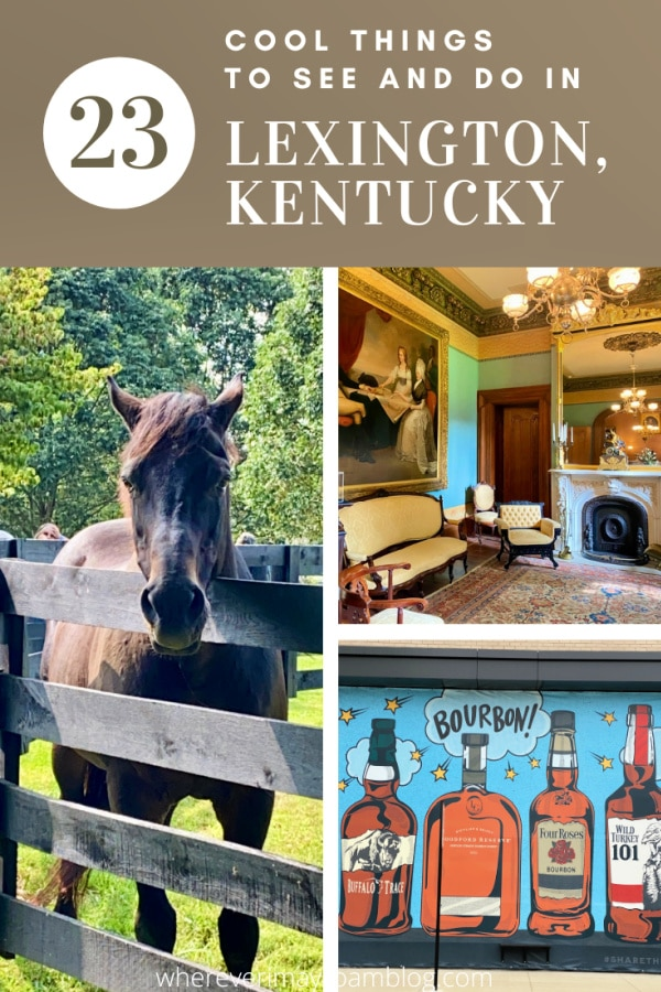 cool things to see and do in Lexington, KY