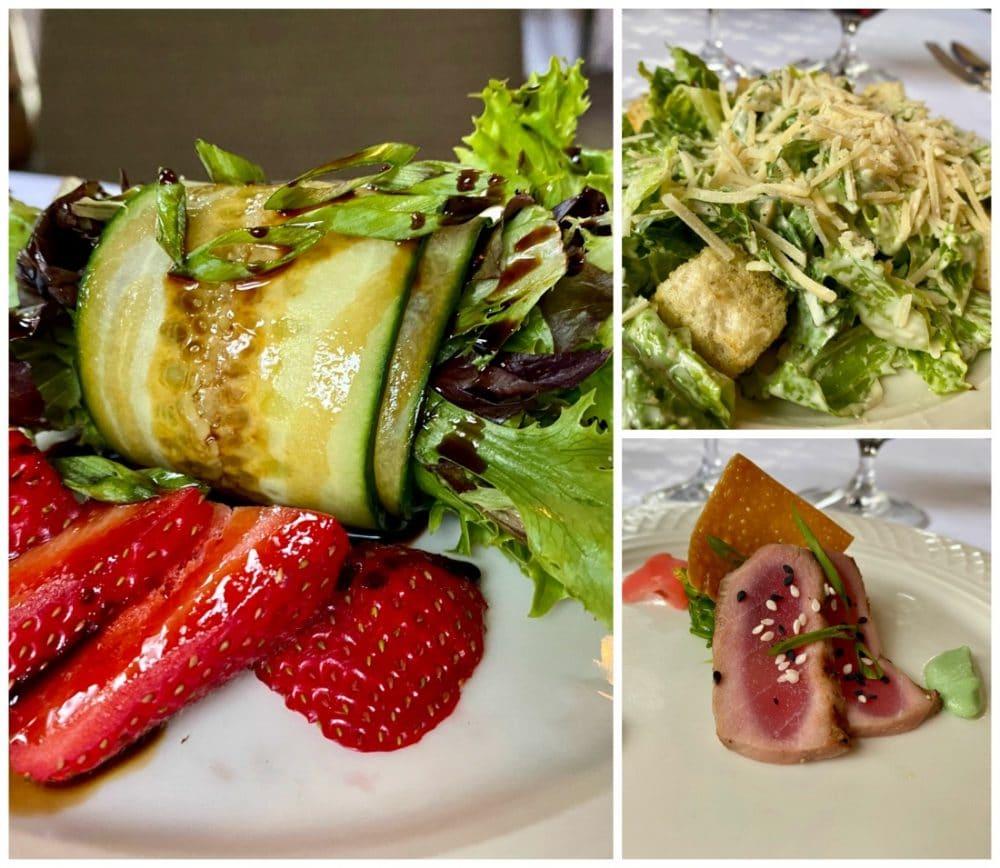 dinner salads graylyn estates