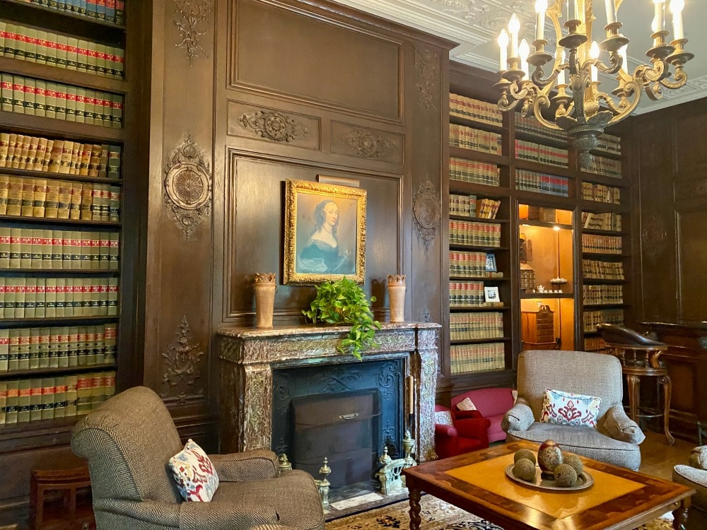 library at graylyn estate