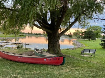 maumee bay state park canoes