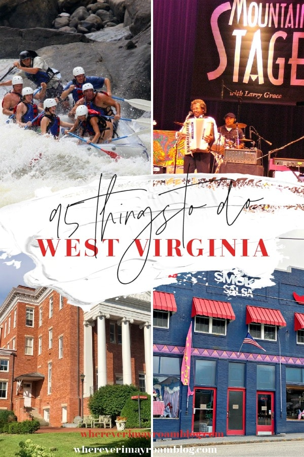 things to do west virginia