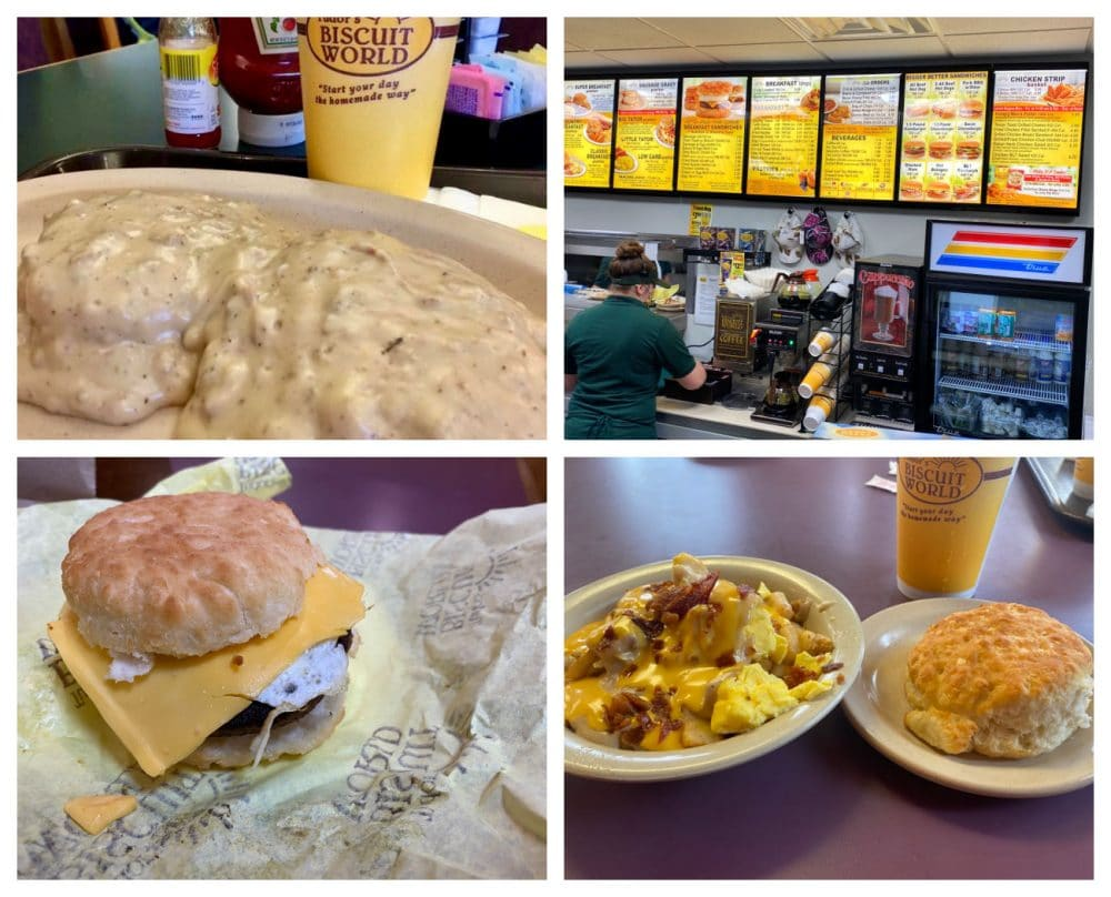 tudors biscuit world sandwiches and little tater breakfast