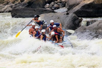 whitewater rafting West Virginia class v