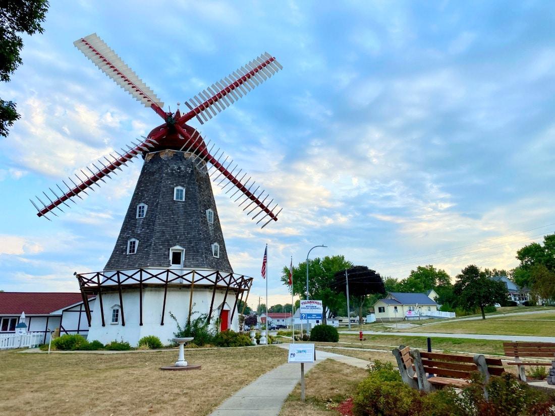 windmill in elk horn iowa