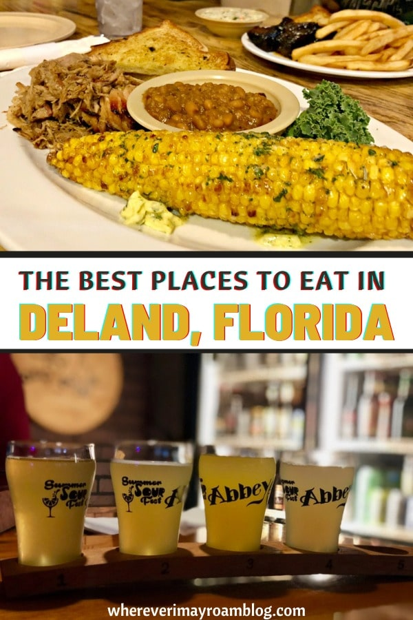 best places to eat in DeLand, Florida