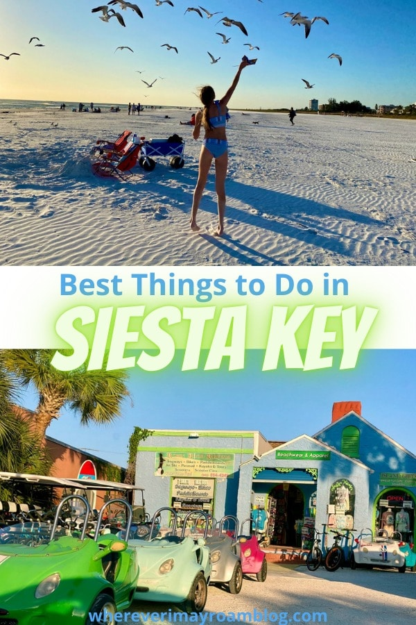 best things to do in Siesta Key