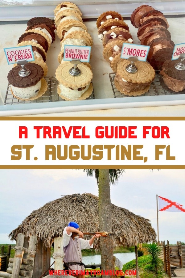 A travel guide for St. Augustine, Florida