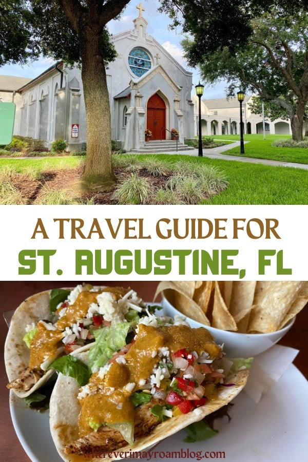 St. Augustine, Florida travel guide