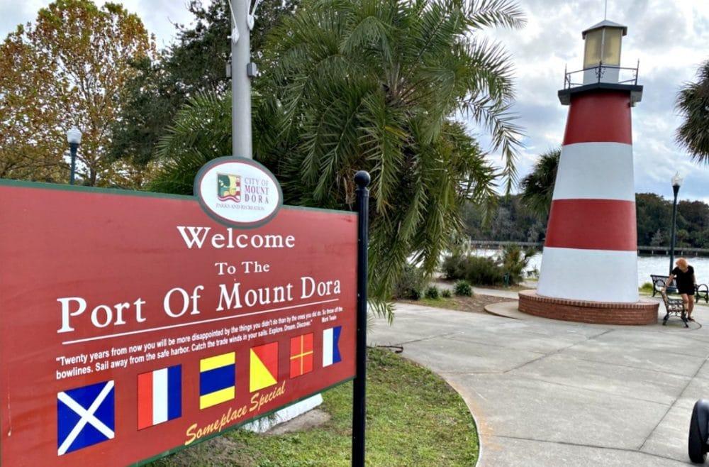 port of mount dora lighthouse