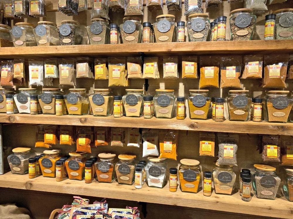spice and tea jars