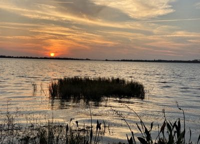 sunset at mount dora florida