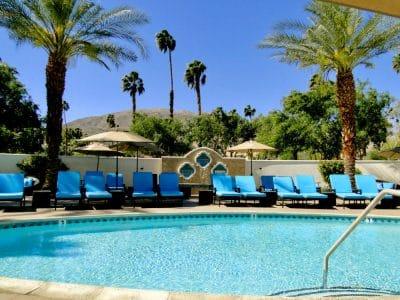 Palm Springs spa pool