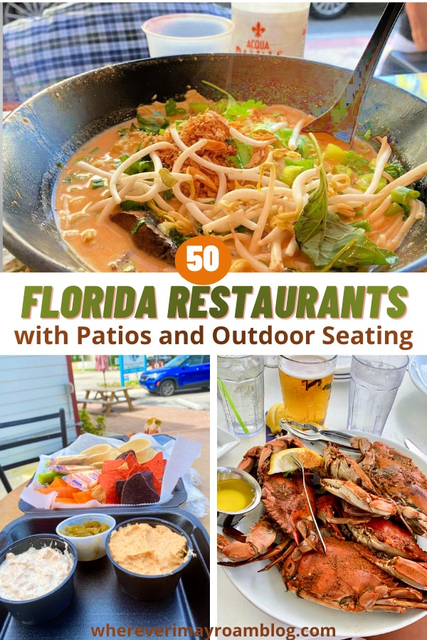 Florida restaurants with outdoor dining options