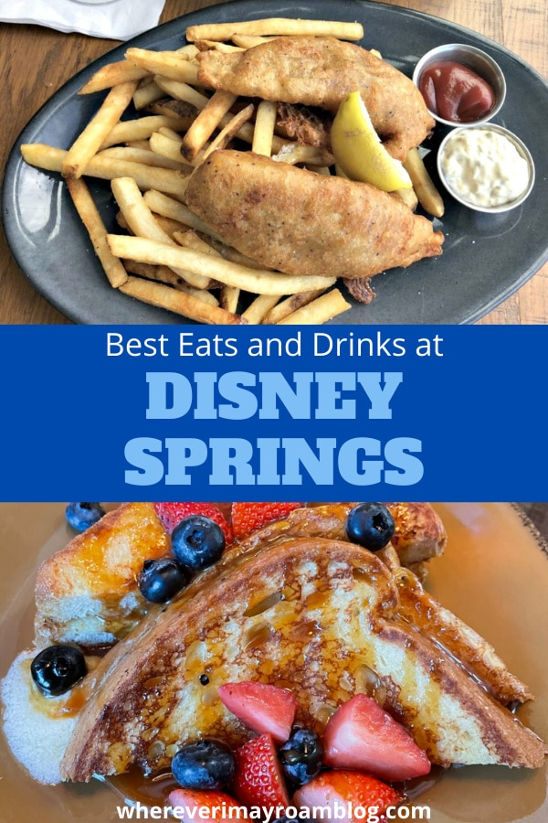 best places to eat at disney springs
