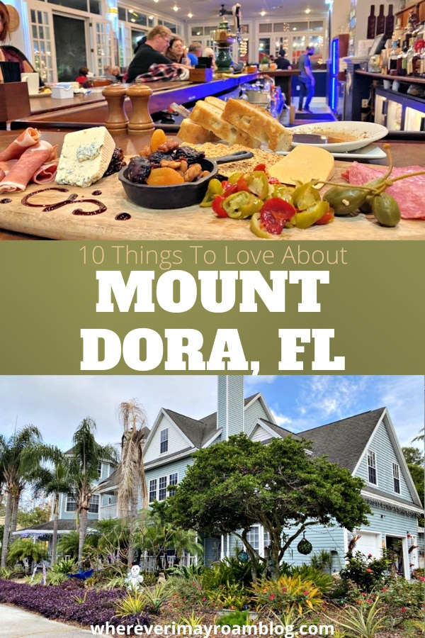 things to love about Mount Dora florida