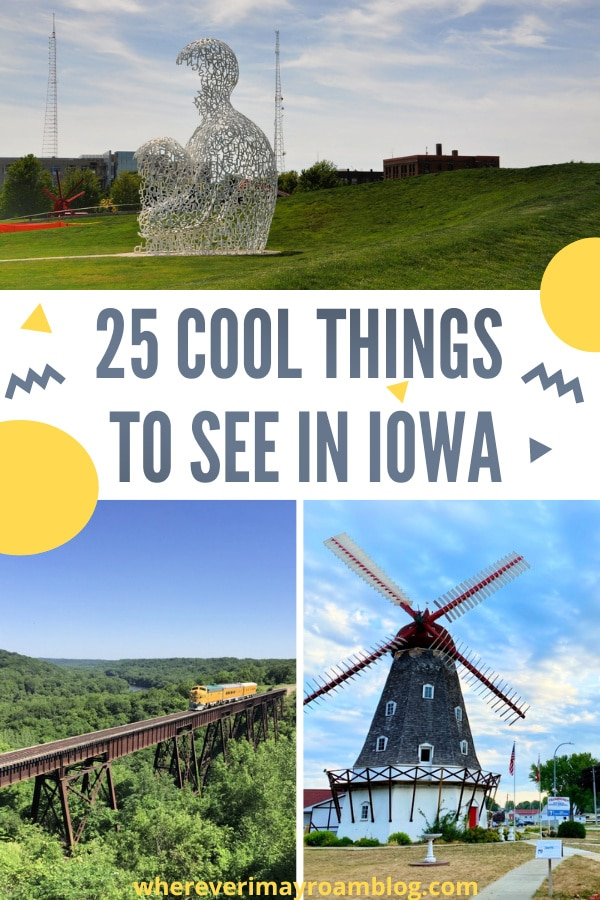 cool things to see in iowa