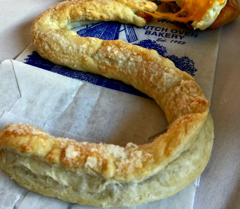 dutch letter s pastry