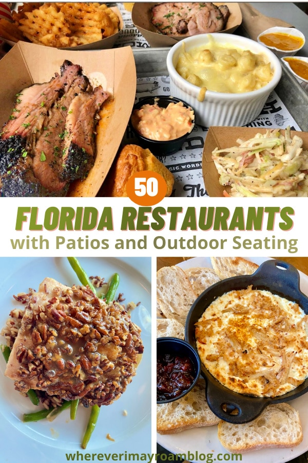 florida outdoor dining options
